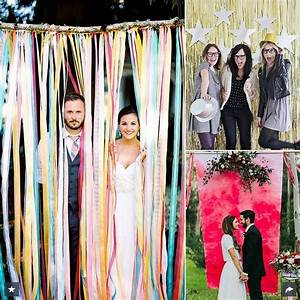 16 diy photo booth ideas for your wedding pretty designs With wedding photo booth ideas