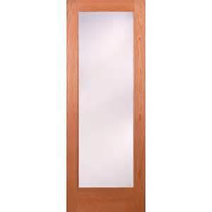 interior door prices home depot feather river doors 32 in x 80 in 1 lite unfinished cherry privacy woodgrain interior door