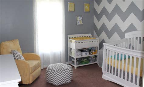 chambre bebe gris décoration chambre d enfant grise