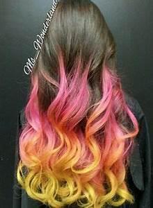 Yellow hair on Pinterest