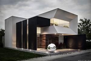 Moderne Häuser Bauen : sensacional cuadrada y minimalista house architektur moderne h user haus bauen ~ Buech-reservation.com Haus und Dekorationen