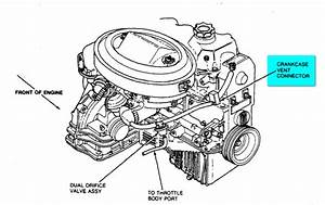 Where Is The Pcv Valve Located On A 1989 Ford Escort Pony