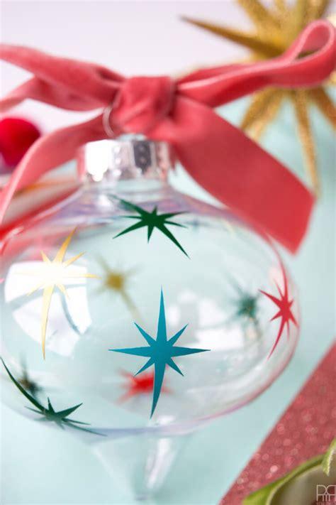 diy christmas ornaments   cricut hey lets