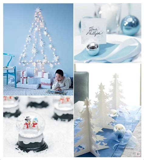 le sapin blanc et or centre de table murals noel and decoration