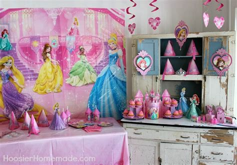 princess cupcakes and decorations hoosier