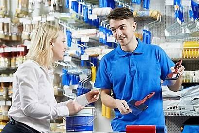 Service Customer Providing Keys
