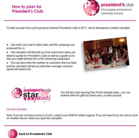 avon membership how to plan for avon s presidents club membership