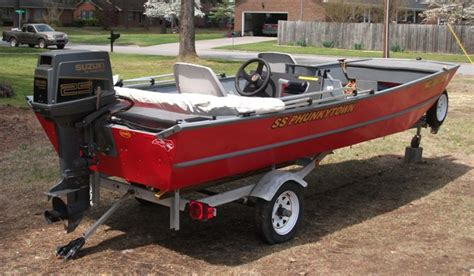 Fishing Jon Boats For Sale by 16ft Jon Boat For Sale The Hull Boating And