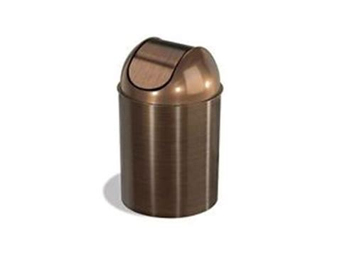 small trash can w lid office home bathroom waste bin
