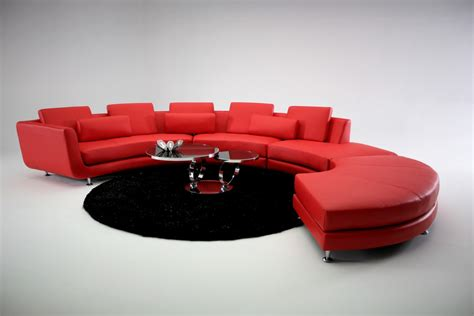 Contemporary Sectional Sofas by Modern Contemporary Circle Sectional Sofa