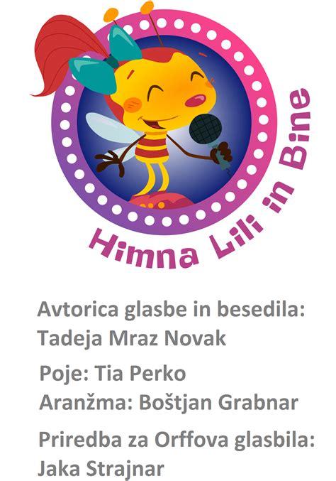 NOVO - Himna Lili in Bine v priredbi za Orffova glasbila ...