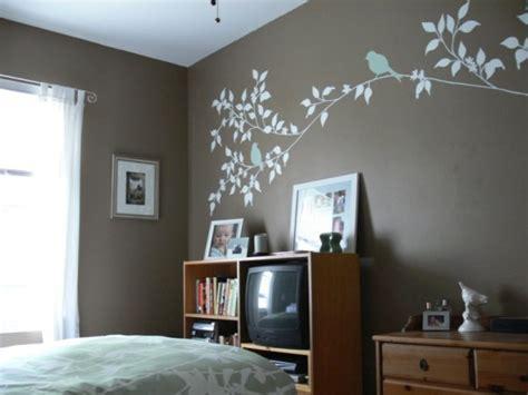 artistic beautiful branches mural  brown teenage
