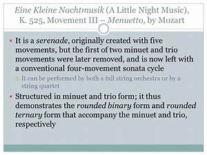 Minuet And Trio Form Diagram