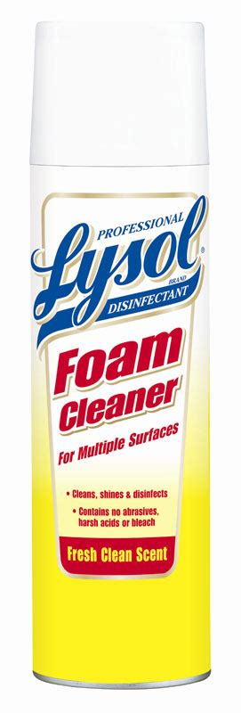 Amazon.com: Lysol Professional Disinfectant Foam Cleaner