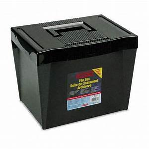 pendaflex pfx20861 portable letter size file box With letter size portable file box