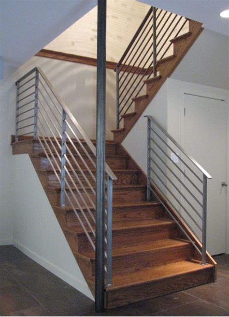 Railings And Banisters Ideas by 17 Best Ideas About Indoor Stair Railing On