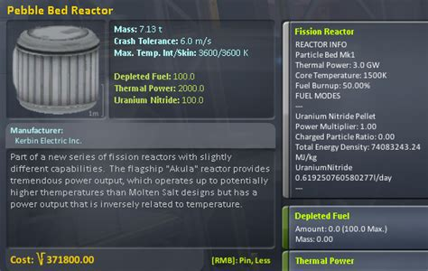 pebble bed reactor 183 sswelm ksp interstellar extended wiki 183 github