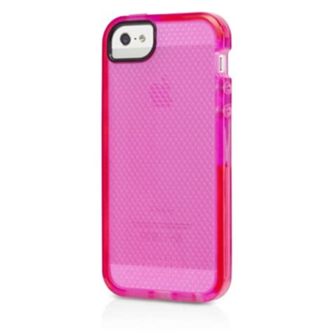 pink iphone 5s tech21 pink impact mesh for iphone 5 5s wackydot