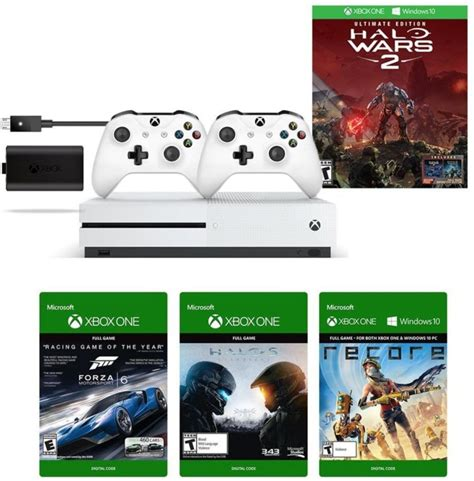 amazing xbox one s halo wars 2 bundle with halo 5 forza 6 recore available on prime day