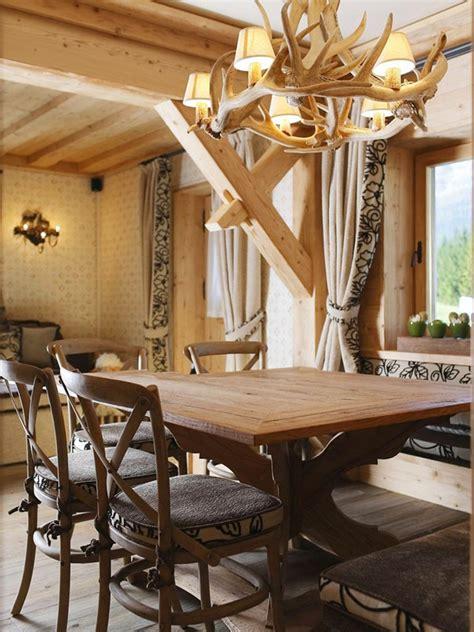 table salle a manger casa casa di montagna dagli incredibili dettagli ideare casa