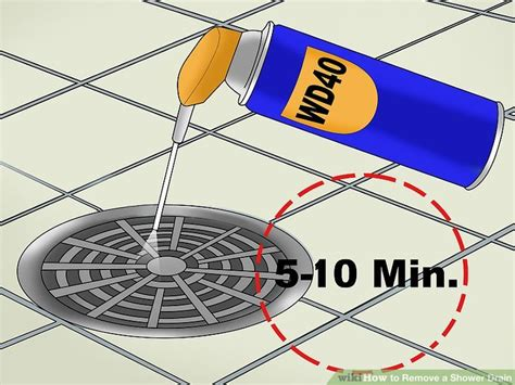 How To Uninstall A Shower - how to remove a shower drain 12 steps with pictures