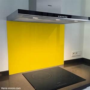 Fond De Hotte Verre : fond de hotte verre jaune ~ Dailycaller-alerts.com Idées de Décoration