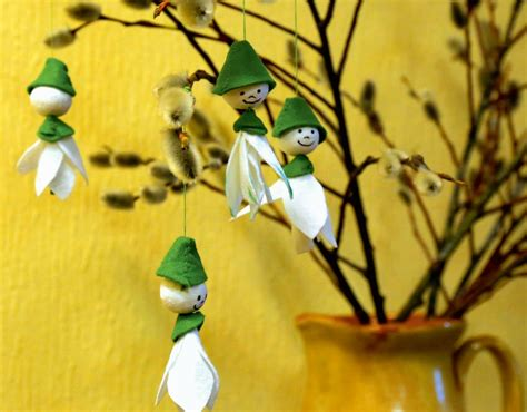 Sniegpulkstenītes smaida. Pavasarīgi dekoriņi kopā ar bērniem | Praktiski.lv