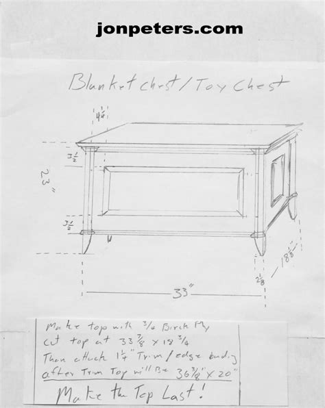 blanket chest drawing jon peters art home