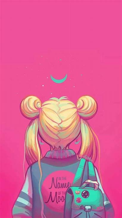 Moon Sailor Wallpapers Iphone Backgrounds Kolpaper