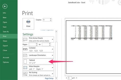change  paper size  excel     techwalla