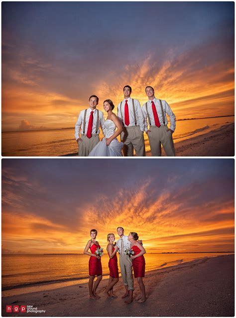 pink shell resort wedding brianna jon florida