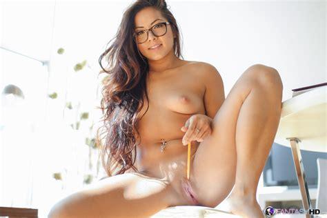 Asian Pornstar in Glasses Morgan Lee gets Tight Pussy Fucked