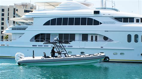 Rib Boat With Wheels by 9 8 M Hibious Boat Tender Rib Boat With Wheels Asis