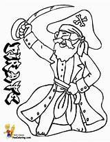 Pirate Coloring Pages Costume Colouring Sheet Captain Pirates Boys Yescoloring Scurvy sketch template