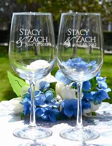 custom engraved wine glasses personalized wine glasses With personalized wine glasses wedding gift