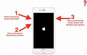 How To Restart Iphone 4 5 6 7 8  X  6s  5s