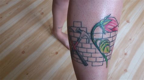 British rock group, formed in 1966: The wonderful life of being a Pink Floyd fan: The Wall Tattoo