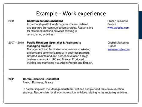 Language On Resume Not Fluent by Cv And Cover Letter Presentation