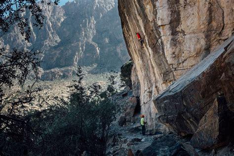 Sultanate Rock Climbing Oman With Read Macadam
