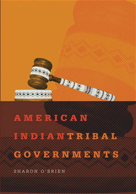 american indian tribal governments  sharon obrien