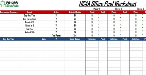 Open Office Football Pool by Ncaa Office Pool March Madness Office Pool