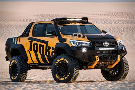toyota   real life tonka truck   blowing