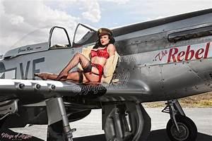 Mustang Pin Up : wings of angels malak pin up jen rox the rebel iv wwii p 51d mustang ebay ~ Maxctalentgroup.com Avis de Voitures