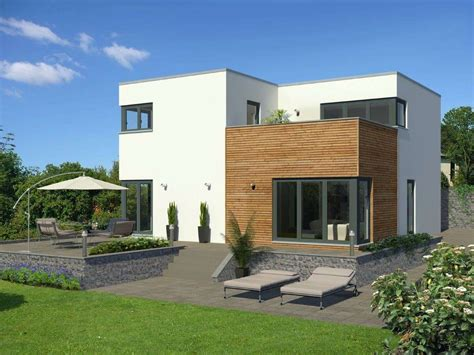 Moderne Häuser Cube by Meisterst 252 Ck Haus Cube Fertighaus Im Bauhausstil