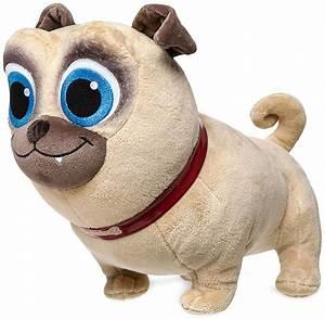 Disney Junior Puppy Dog Pals Rolly Exclusive 12 Plush - ToyWiz