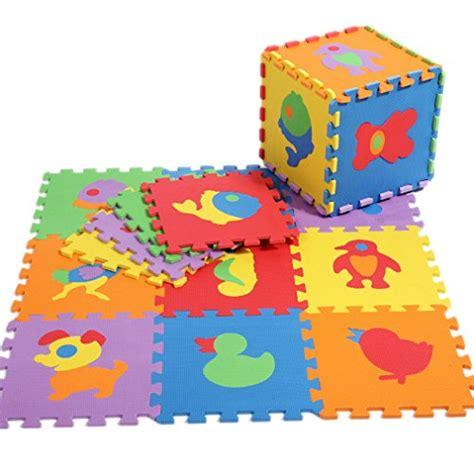 la vogue tapis de puzzle animaux en mousse anti d 233 rapant antichoc jeu