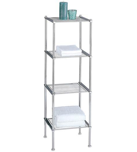 metro  tier chrome bath shelf  bathroom shelves