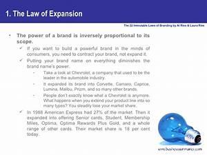 The 22 Immutable Laws Of Branding B I Z