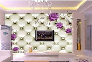 Wholesale Large Mural Tv Wall Wallpaper Living Room 3d Non ...