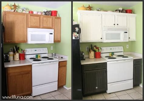 easy kitchen counter makeover easy kitchen cupboard makeover 7007